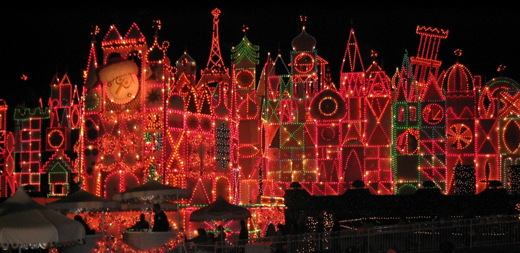 It's a Small World at Christmastime
