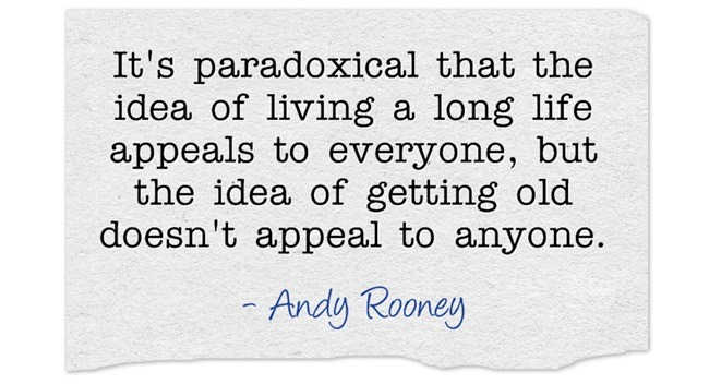 Andy Rooney Quote