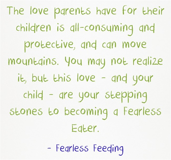 Fearless Feeding Quote