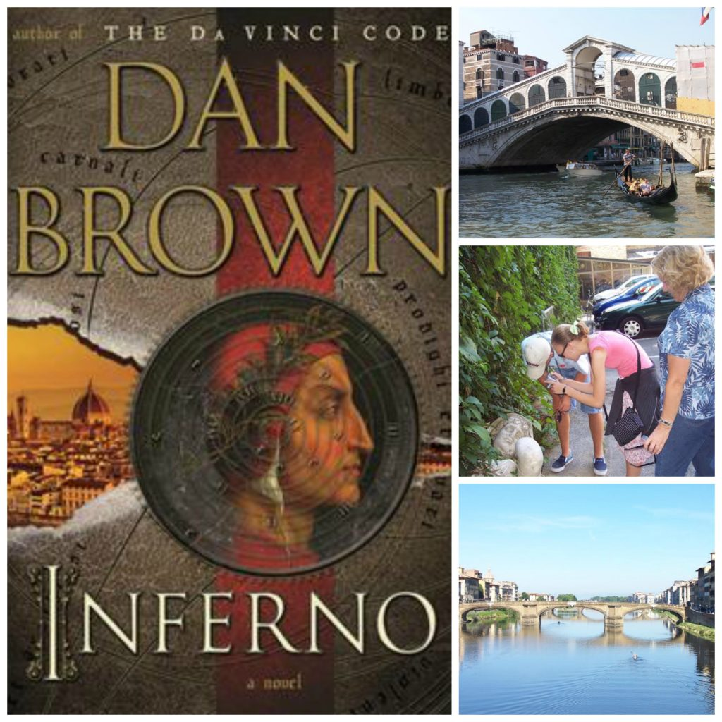 Reading Inferno helped me relive my family's 2006 vacation to Venice and Florence.