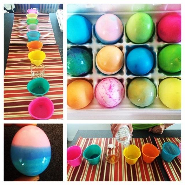 Easter Egg Dying
