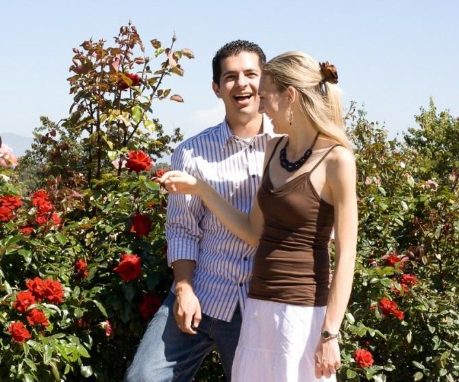 Rose Garden: Proposal Day
