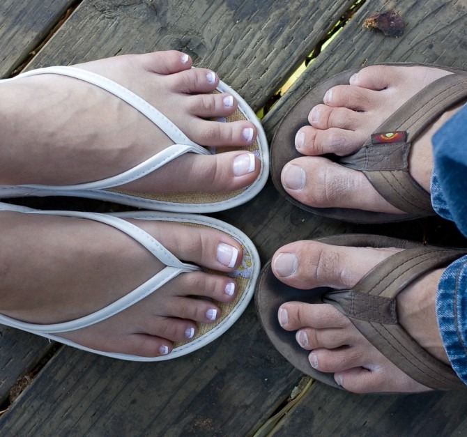 Two Sets of Feet: Proposal Day
