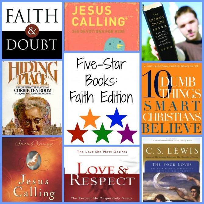 Five-Star Books: Faith Edition