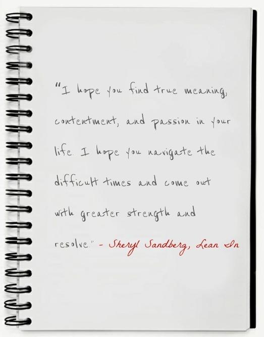 Sheryl Sandberg True Meaning