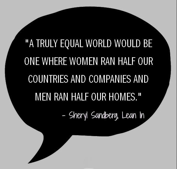 Sheryl Sandberg an Equal World