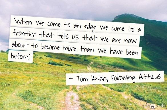 Following Atticus Quote