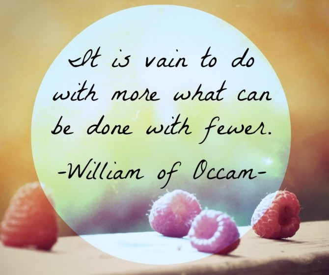 Quotable from William Occam