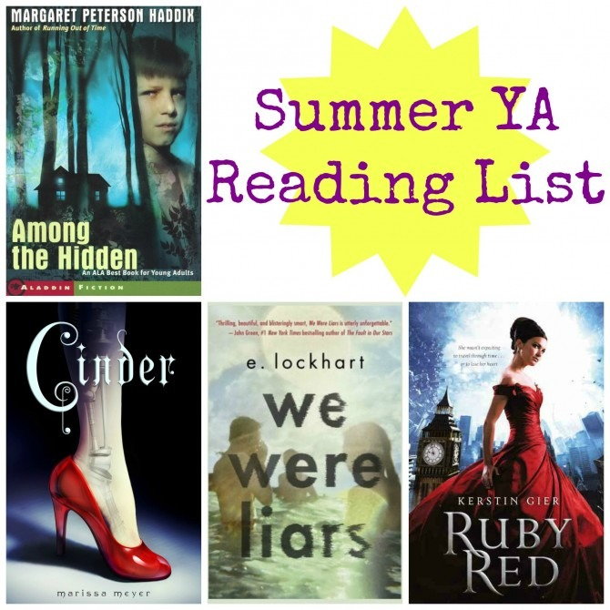 Summer YA Reading List