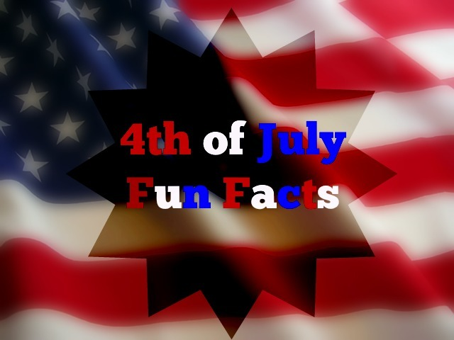 July 4th Thank You 4th of July Fun Facts