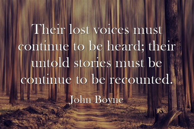 John Boyne Quote