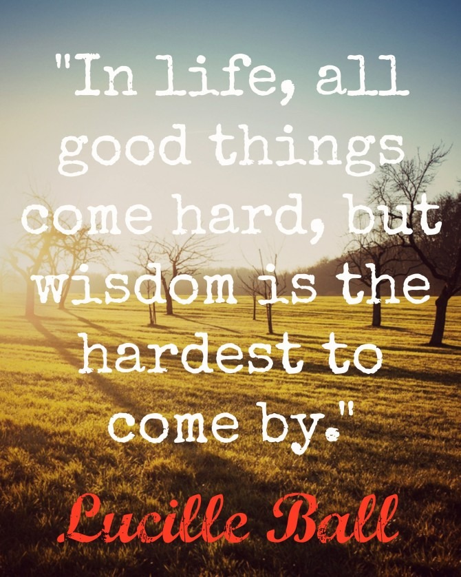 Quotable from Lucille Ball