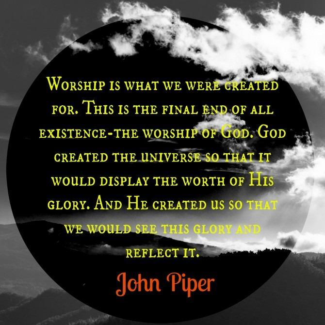 John Piper on Worship