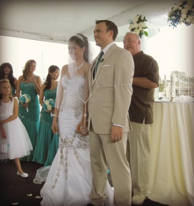 Presenting Mr. and Mrs. Austin Dix