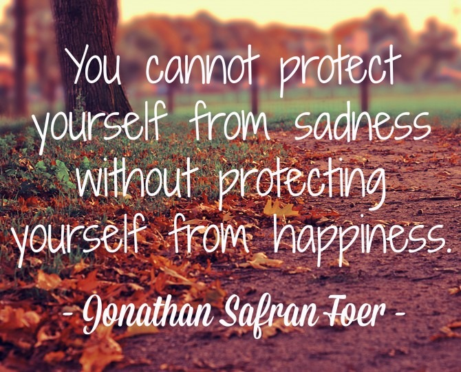 Quotable from Jonathan Safran Foer