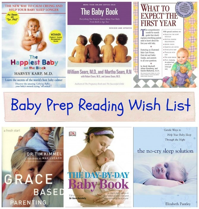 Baby Prep Reading Wish List