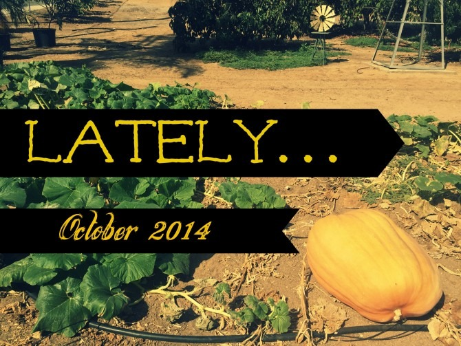 Lately October 2014