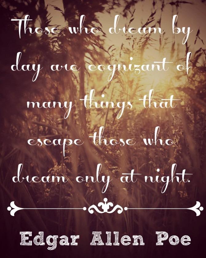 Quotable from Edgar Allen Poe