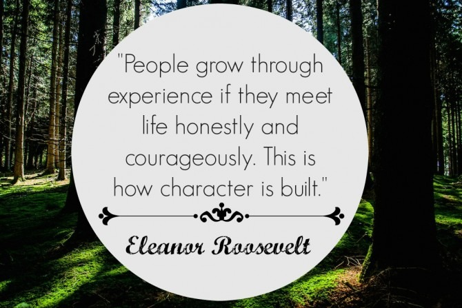Quote from Eleanor Roosevelt