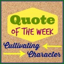 Quotable on Character // from Eleanor Roosevelt