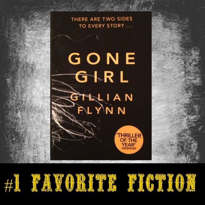 #1 Favorite Fiction Gone Girl