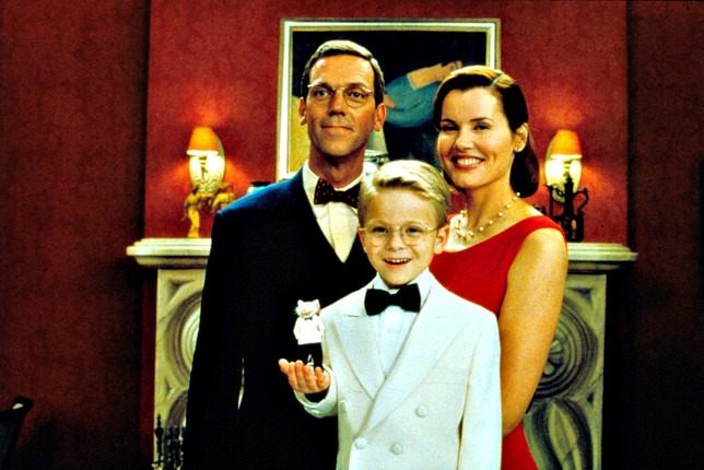 A scene from Stuart Little, with the famous art piece hanging in the background.
