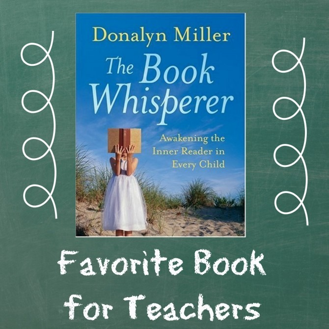 Favorite Book for Teachers Book Whisperer