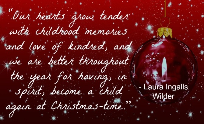 Quotable from Laura Ingalls WIlder