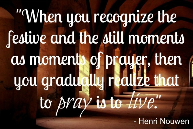 Quotable from Henri Nouwen