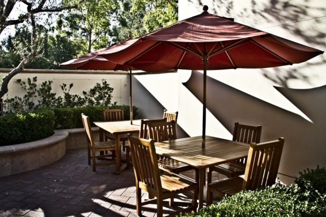 The courtyard where I was laboring. (photo from the SCM website)