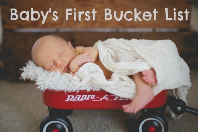 Baby's First Bucket List