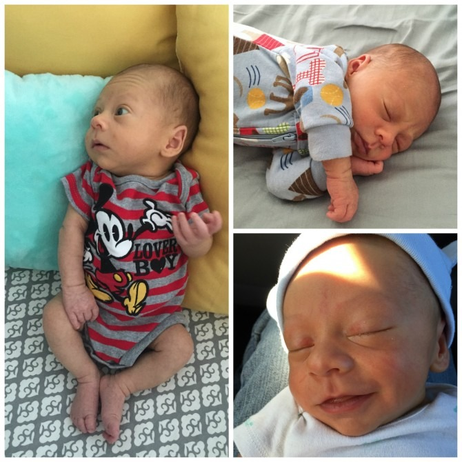 Charleston Michael One Month Collage