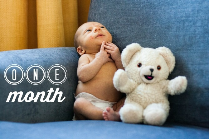 Charlie & Snuggles One Month