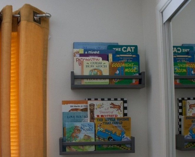 Charlie's Nursery Ikea Spice Rack Book Cases