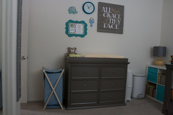 Charlie's Nursery Dresser/Changing Table