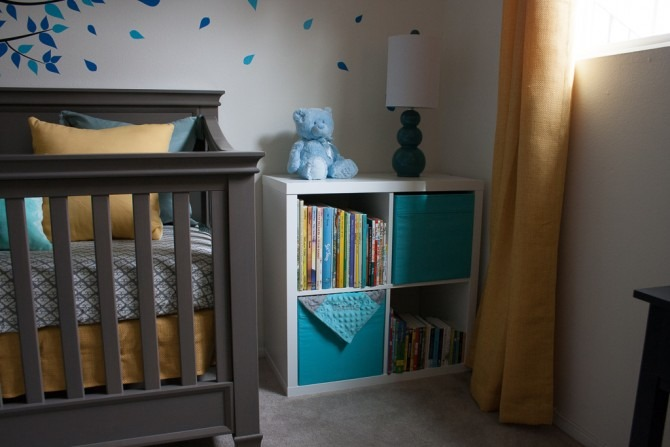 Charlie's Nursery Book Case 1