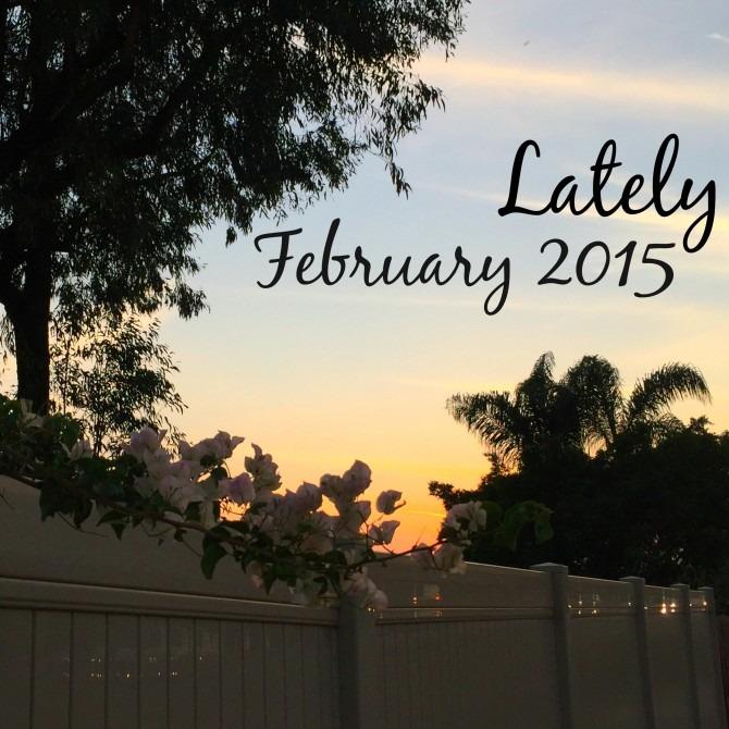 Lately February 2015