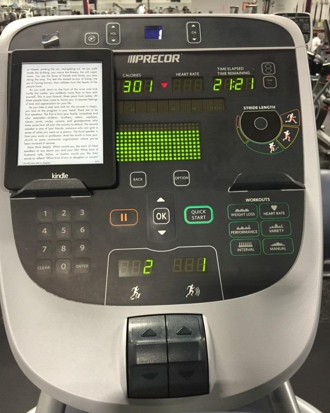 Back to te Gym