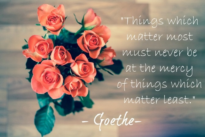 Quotable from Goethe