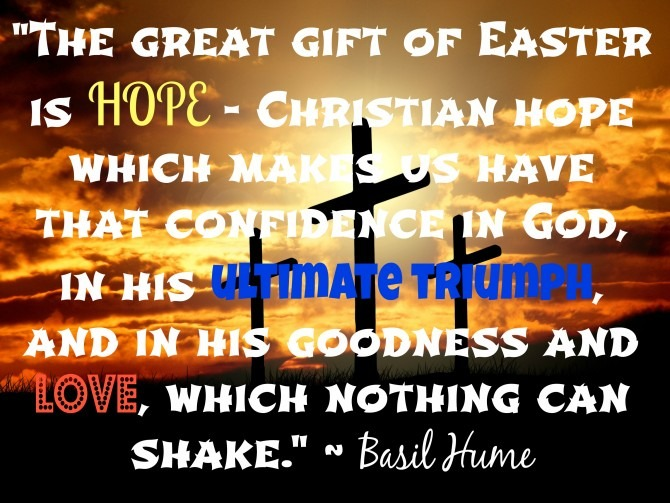 Quote from Basil Hume