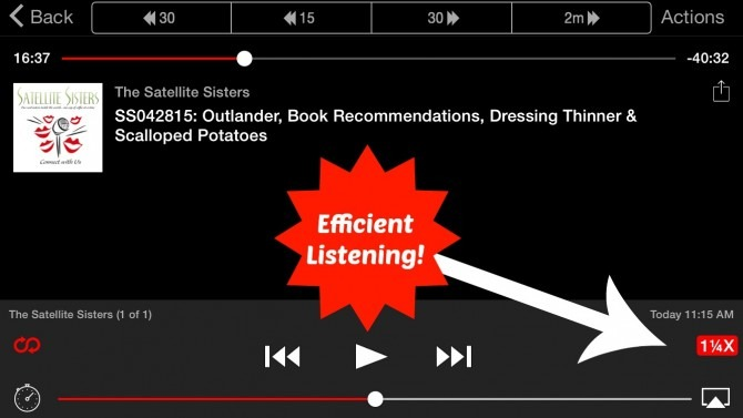 Efficient Podcasts