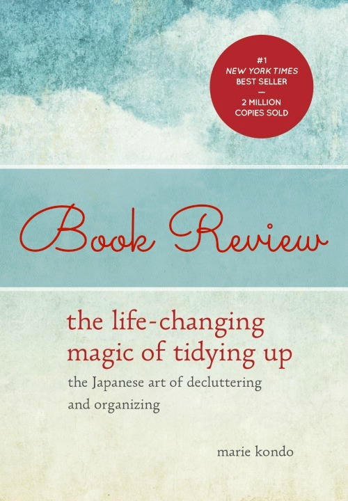 Marie Kondo Book Review