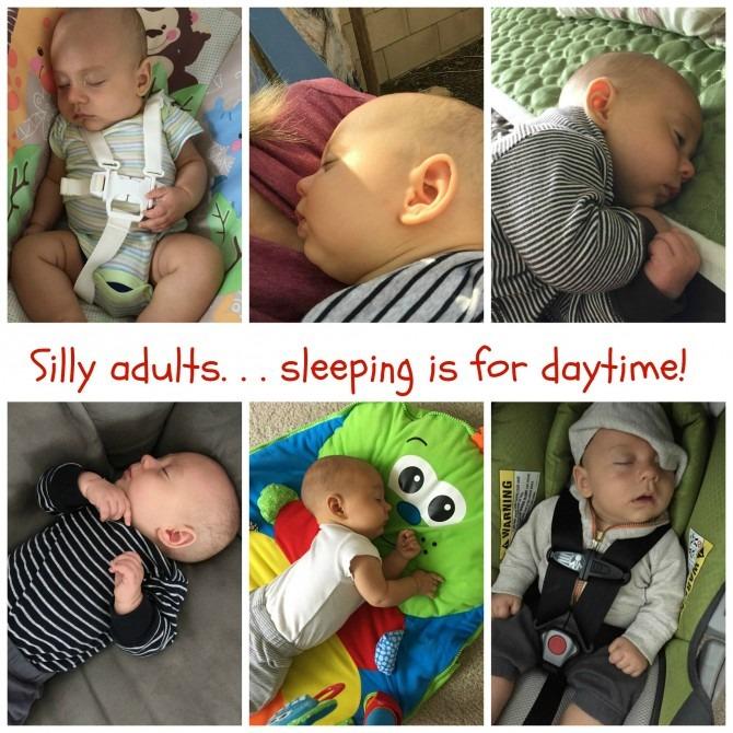 Daytime Sleepig for Charlie