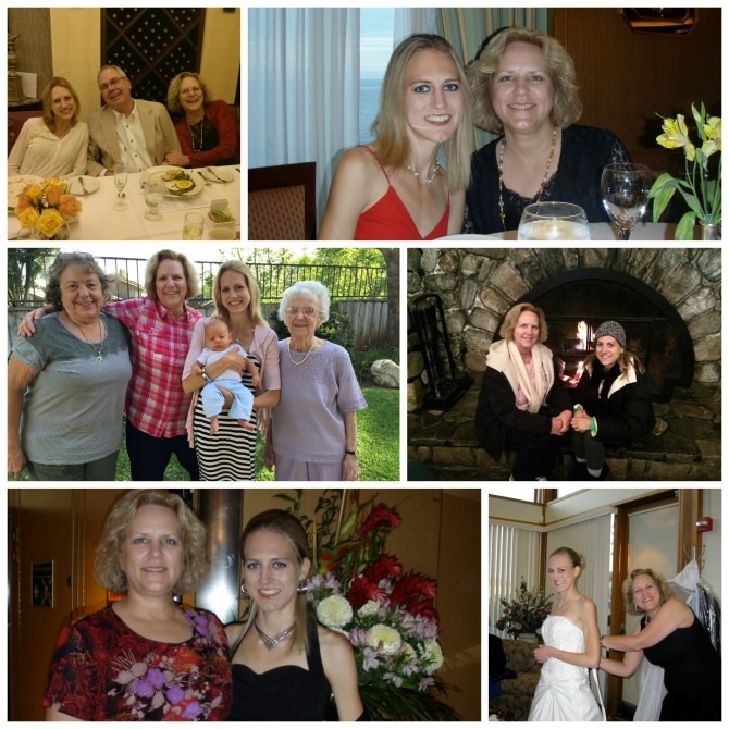 Mom and Kendra Collage
