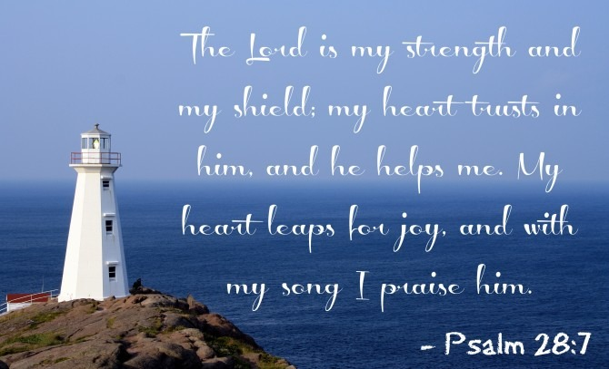 May Verse Of The Month Psalm 28 7 Kendranicole Net
