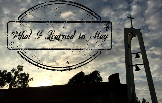 What I Learned in May 2015