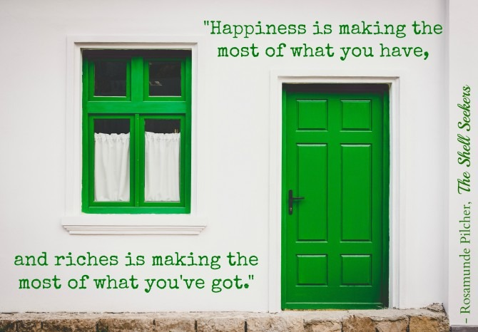 Rosamunde Pilcher on Happiness