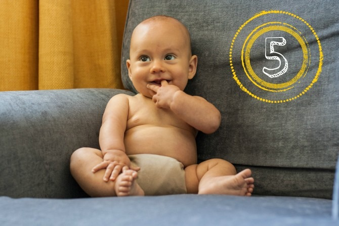 Shy Charlie 5 Months