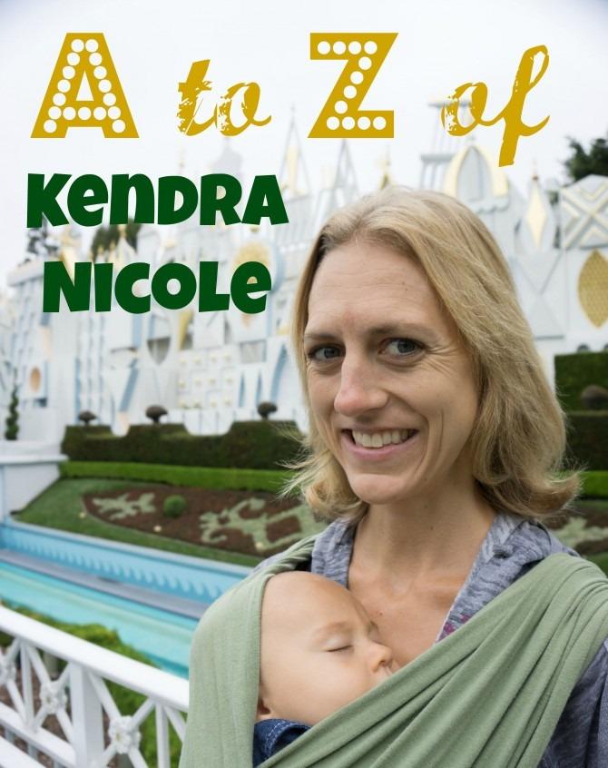 A to Z of Kendra Nicole