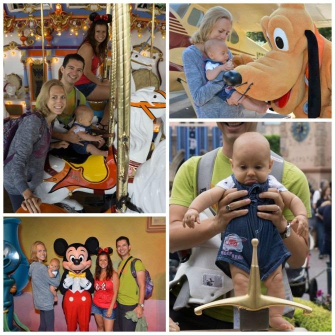 Charlie at Disneyland
